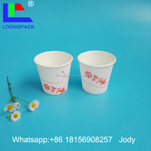 4oz pe coated paper cup blank