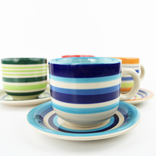 Amazon best seller ceramic cup and saucer set
