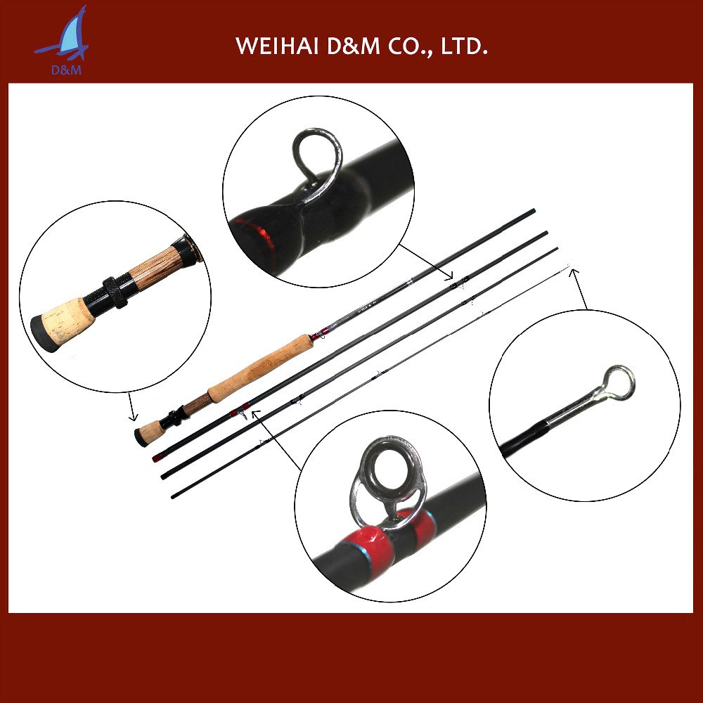 Toray carbon switch fly rod of fly fishing product