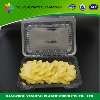 Wholesale Custom size light and keep fresh plastic fruit container