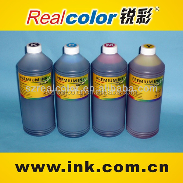Popular bulk ink for inkjet printer water based dye ink