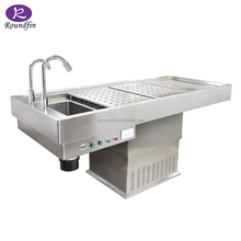 Funeral Embalming Table Mortuary table Autopsy table