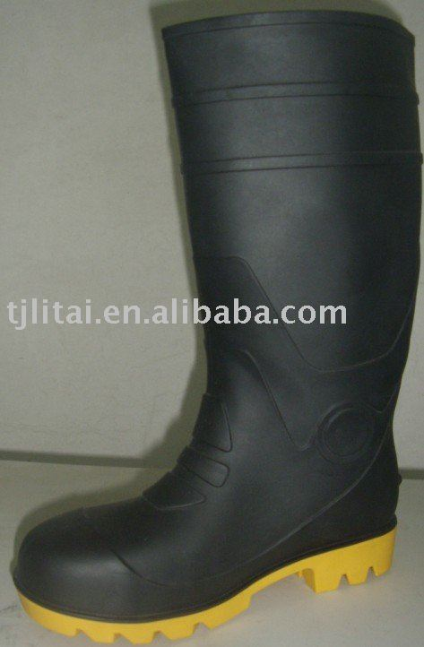PVC Safety boots rain boots pvc High quality performance and good price boots