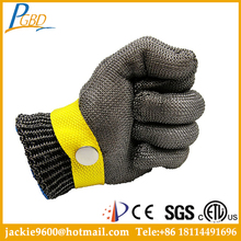 Cotton Latex Coated Chemical Stainless Steel Cut Resistant Gloves,Cut Resistant In Safety Gloves