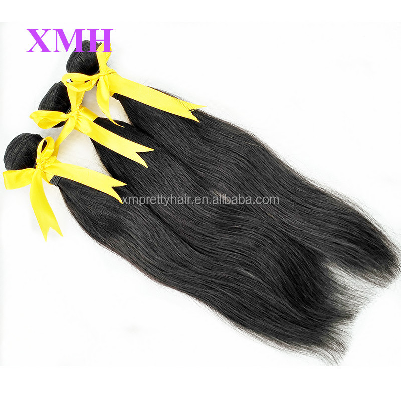 Peruvian virgin hair, natural hair extensions tangle free natural straight peruvian hair, remy hair 100 human hair