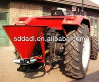 Good Quality PVC material 600L Tractor mounted Fertilizer Spreader