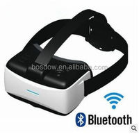 [HD] New blue film sex video google 3D Glasses with Bluetooth Remote + WIFI VR Box [BS-VR003]