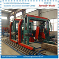 double angle sawmill,wood cutter saw,agriculture machinery equipment