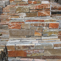 wall construction material,slate culture stacked stone tiles