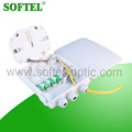 High quality ftth mini fiber optic terminal box 8 cores terminal box
