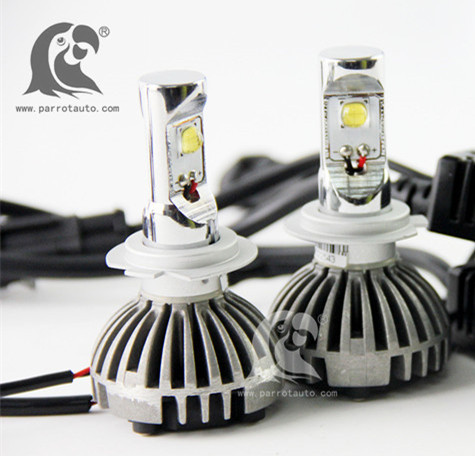 Super Bright High Power H1 H4 H7 H11 D2S 30W 6400 LM LED H4 Headlight Bulbs with CANBUS