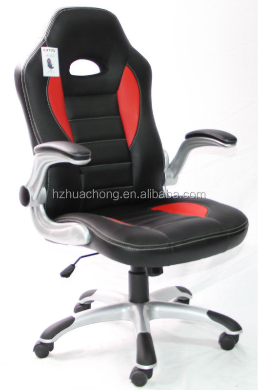 Racing Chair Modern Design Swivel Leather And Mesh Bucket Seat Chair HC-R033