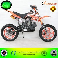 Chinese Cheap 49cc 50cc 2 stroke petrol pocket bike, mini bike, motorcycle, dirt bike for kids