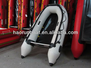 CE hot selling PVC/Hypalon sport inflatable fishing yacht