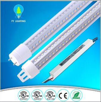 UL cUL certified 4ft/5ft/6ft double side cooler door Led tube light for Refrigerator display case