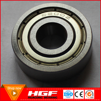 HGF High speed deep groove ball bearing 6200Z motorcycle bearing