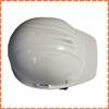 white safety helmet with chin strap