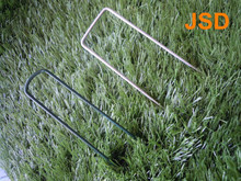 Anchor Pins/U Sod Staples/E.G. Upins/Coating Green Fence Pins Staple