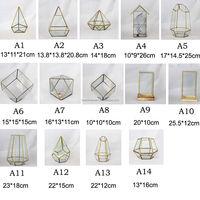 Geometric Lanterns,Candle Holders,FLOWER Holder Terrariums For Modern Wedding