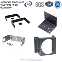 Galvanized metal wall mount brackets