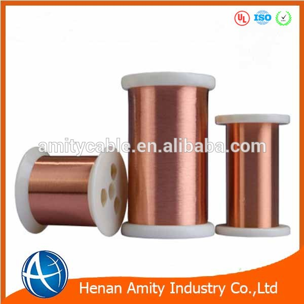 High Quality Ultra-thin 0.09mm 130 155 180 200 220 Enameled Copper Wire With Manufacturer Price