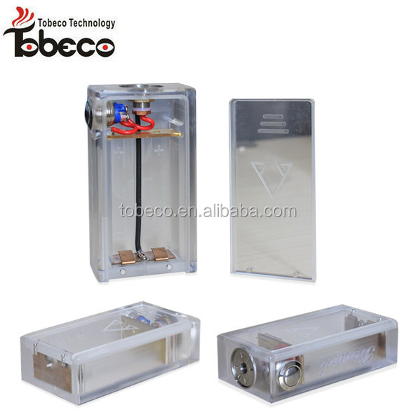 Tobeco colorful abs box mod, 6 color beast box mod, in stock wood box mod with rubik rda