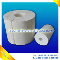 Light weight Calcium Silicate Pipe INSULATION MATERIAL
