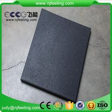Outdoor Rubber Patio Paver Tile Safety Protection 20Mm 17Mm Rubber Tile Flooring