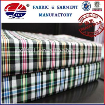 2013New Fashion check shirts bamboo fabric