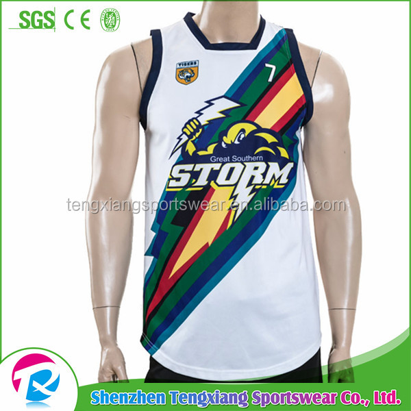 Wholesale customize high quality team Basketball jerseys from china