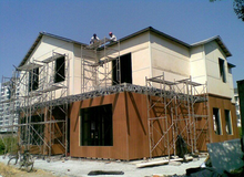 light steel villa villa new countryside planning High quality light steel residential steel structure buildings