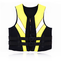 personalized neoprene life jacket for surfing