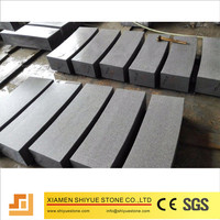 China cheap granite g654 kerbstone for enviromental decoration