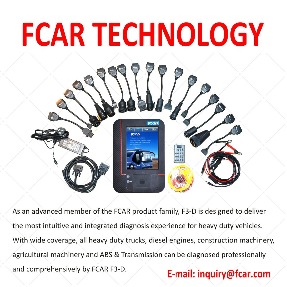 Hot Sale heavy truck diagnostic scanner f3-d for diesel engine Diagnostic Scanner