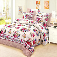 2016 new designs Polyester brushed pigment printed fabric for bed sheet,mattress,curtain