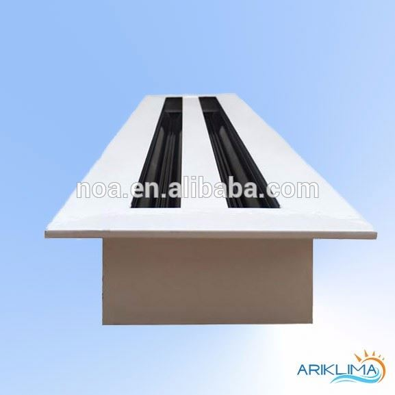 Customized sizes aluminum contemporary air inlet/outlet air diffuser grille for HVAC system SD