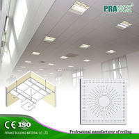 SGS Certificated Fashion suspended mirror ceiling tiles