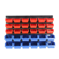 Wholesale PP wall warehouse mount tool holder industrial plastic storage bins