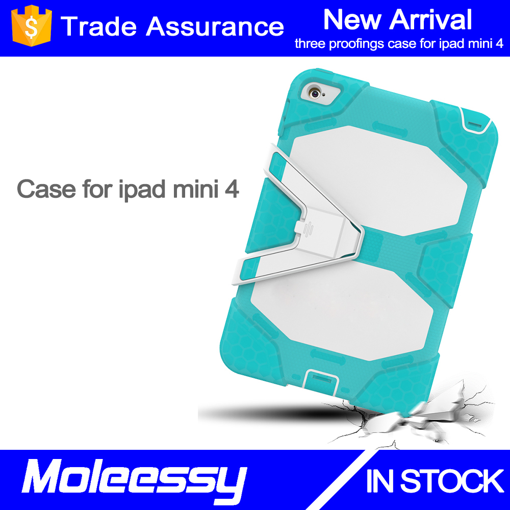 Ladies shockproof case for ipad mini 4 7.9 inch acrylic silicone cover