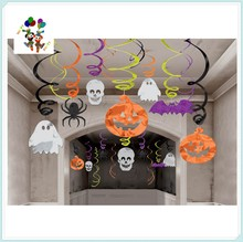 Cheap Fancy Halloween Party Hanging Swirl Decorations HPC-0946