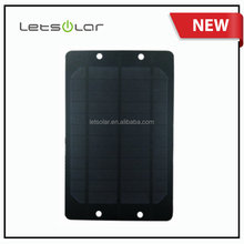 Factory 6V 6W solar panel system small solar panel for multifunction solar bike basket