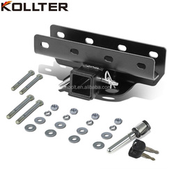 07-16 Jeep Wrangler JK Rear Tow Bar Hook Hitch Receiver Kit, BLT-JK-0427