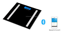 2017 latest popular desing hot selling very good promotion price iOS and Android mobile connected app bluetooth scale