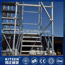 Latest Arrival internal maintenace steel scaffolding system shoring frame