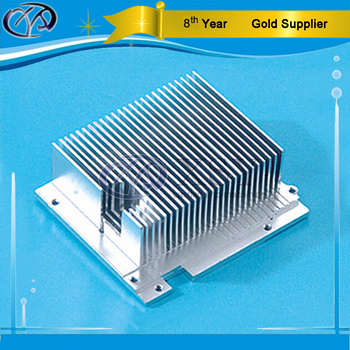 customized heatsink service aluminum LED lamp fin heat sink