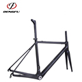 Dengfu carbon road racing bike frame R01, BSA and BB30, OEM design