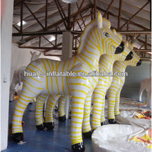 2014 Hot selling inflatable cartoons advertising inflatable jumping horse