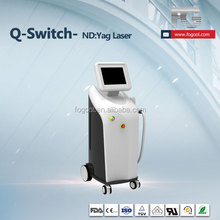 Tattoos and Pigments Removal Laser Machine Q-Switch Nd Yag Laser Machine