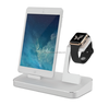 MFi 48W 4 in 1 Aluminum Destop Power Docking Station with Lamp for iPhone Apple Watch Stand and Extra Dual USB Port
