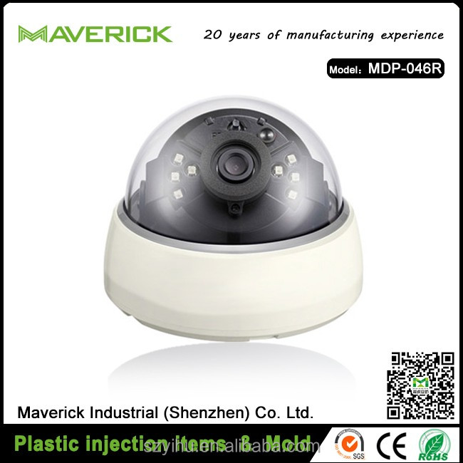 OEM high quality waterproof plastic CCTV IR dome camera housing cctv manufacturers